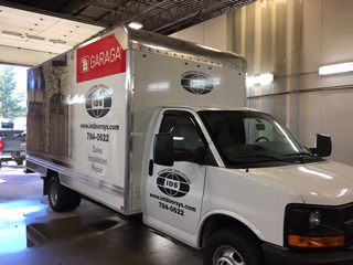 International Door Corp Service Truck